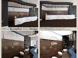 office area design. Office Reception Area Interior Design Concept: Detailed Drawings N