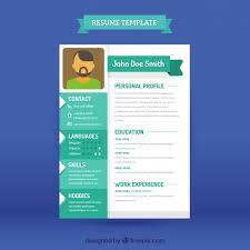 Modern Resume Downloads Modern Cv Template Vector Free Download
