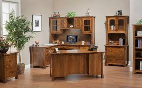 trendy custom built home office furniture. More Than Oak, Country. Amish-made Home Office Trendy Custom Built Furniture