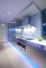led home interior lighting. Led Strip Lighting Kitchen Ideas Light Blue Home Interior