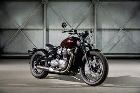 the 2017 triumph bonneville bobber is custom looks without the