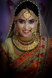 north indian bridal makeup