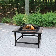 Blue Rhino UniFlame Endless Summer Ceramic Tile Outdoor Fireplace ...