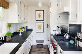 lighting for galley kitchen. Get This Look With The Hudson Valley Dutchess Collection! Photo Credit: Beach Style Kitchen Lighting For Galley I