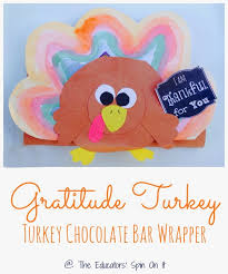 chocolate bar wrappers handmade turkey chocolate bar wrappers the educators spin on it