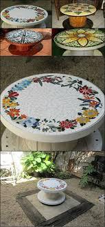 40 broken crockery mosaic art ideas