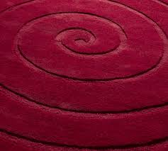 small red round rugs ideas