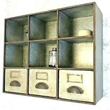 industrial style bathroom wall cabinet storage cabinets bar 2 door mounted