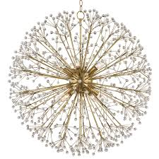 whimsical lighting fixtures. Crystal Dandelion Chandelier - Large Whimsical Lighting Fixtures
