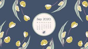 Sep 2020 free calendar wallpapers ...