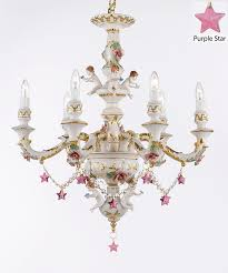 authentic capodimonte porcelain chandelier with cherub angels com