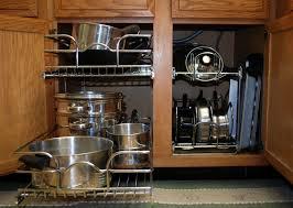 ... Kitchen Storage Racks And Shelves Kitchen Cabinets Storage Racks Add Kitchen  Cabinet Pot Organizer To Make ...