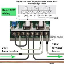 how to wire ge 15207 timer larger image