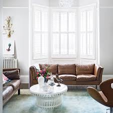 modern white living room furniture. Modern White Living Room With Leather Sofa Furniture E