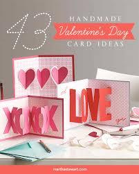 valentine s day card ideas. Simple Valentine Made With Love Inside Valentine S Day Card Ideas E