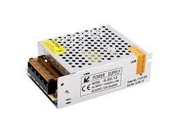 <b>Блок питания</b> в сетчатом корпусе <b>AC</b>-<b>230</b>/<b>DC</b>-<b>12V</b>, IP20, 60W ...