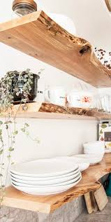 from rachel at diy in pdx you can take one look at these floating kitchen shelves and be ready to pull the trigger for your own kitchen love these