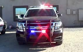 Willcox Police Dept. new Chevy Tahoe cruiser lights setup [AZ | 6 ...