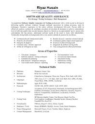 qa resume tester regarding qa sample resume - Sample Qa Resume