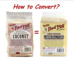 Flour To Coconut Flour Conversion Chart Almond Flour Baking Janes Healthy Kitchen