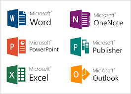 Free Microsoft Office Icon Vector 262430 Download Microsoft Office