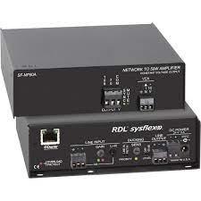 RDL SF-NP50AX 50W Dante to 70/100V Audio Amplifier SF-NP50AX B&H