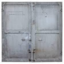 metal industrial furniture. Antique Double Metal Industrial Doors At 1stdibs Furniture