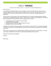 Accounts Receivable Clerk Sample Job Description Best Cover Letter