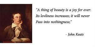 John Keats Quotes A Thing Of Beauty Best of Short Poems On Beauty Short Poems