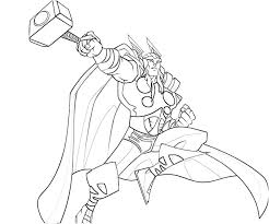 Thor Coloring Pages free printable thor coloring pages for kids on hammer coloring page
