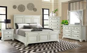 Elements Calloway - 6pc King Bedroom Set - White - PKBCY700-6K