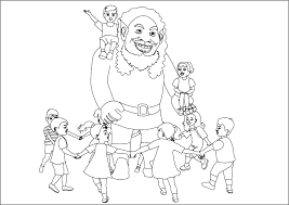 Small Picture Coloring Pages The Selfish Giant 6