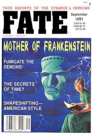 cover of the original proposal fate magazine