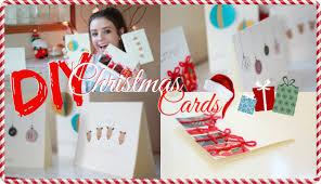 Diy Christmas Cards 4 Easy Diy Christmas Cards Youtube