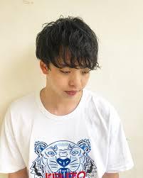 メンズヘアメンズパーマ横浜小上馬 淳司 At Atsushi7