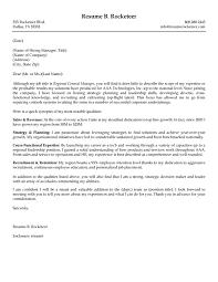 Job Application Letter For Sales Manager Manager Cover Letter
