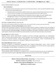 Sample Resume For Financial Services Resume Sample 12 Strategic Corporate Finance Technology