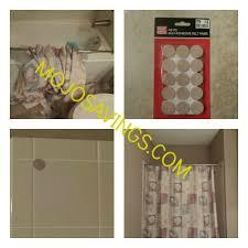 diy easy fix for falling shower rod