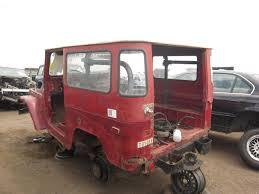 Picked Clean: 1971 Toyota Land Cruiser Skeletonized By Junkyard ...
