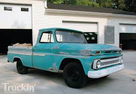 1965 Chevy C10 Buildup - Custom Chevy Truck - Truckin' Magazine
