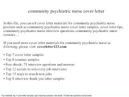 Answers To Interview Questions For Nurses Cover Letter For School