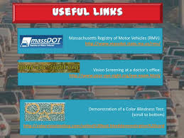 Rules Of The Road Vision Test Presentation