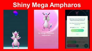 Shiny Mega Ampharos Entwicklung - Pokemon GO Deutsch 228 - YouTube