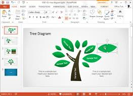 concept map templates for powerpointtree diagram template for microsoft powerpoint