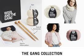 wool and the gang easy to follow patterns and instructions all in one kit