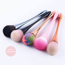 long holder nail dust brush 2 colors art soft cleaner cleaning for manicure uv gel powder removal
