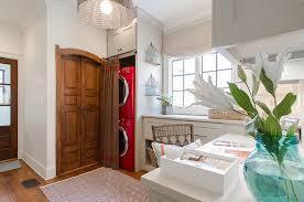... Home office and laundry idea [Design: Abbey Construction Company]