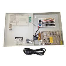 ev pb09 05p power box 9ch security camera 5amp fuse cctv dvr power Main Circuit Breaker at Main Power Switch Fuse Box