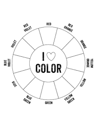 Two printable color wheel template pages to choose from. Printable Color Wheel Mr Printables