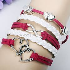 hearts infinity sign friendship leather bracelet for girls personalized gifts matching necklaces and bracelets custom wedding rings engraved